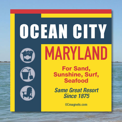 Ocean City Seasoning (Magnet)