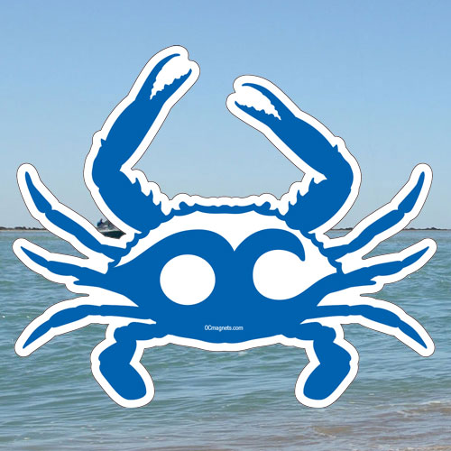 OC Blue Wave Crab (Sticker)