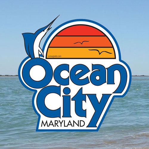 oc magnets ocean city magnets and ocean city stickers in